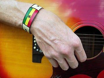 Colocación mano derecha en la guitarra
