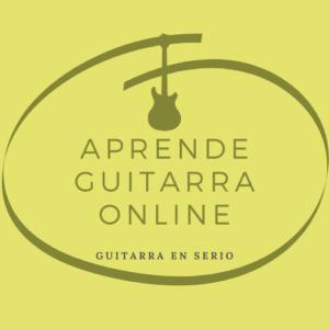 Tienda Aprende Guitarra Online. Verde.