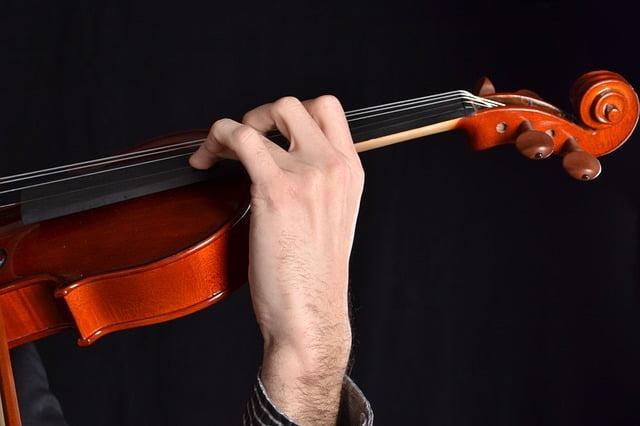 Violín. Instrumento no temperado