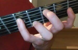 Acorde en guitarra