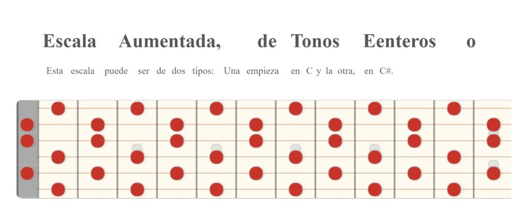 Escala Aumentada o Whole-Tone