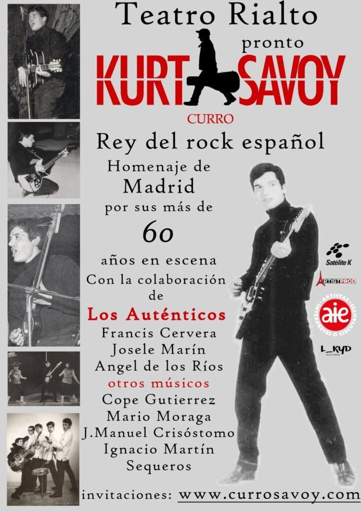 Kurt Savoy Teatro Rialto Madrid