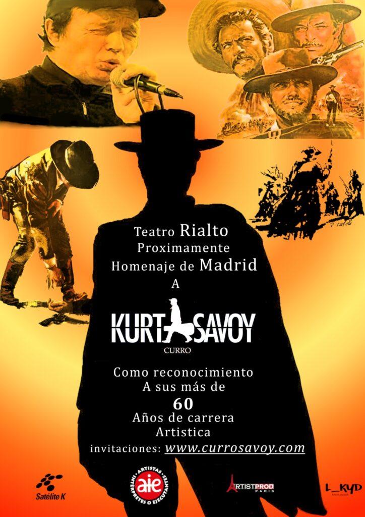 Curro Savoy. Teatro Rialto.