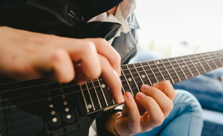 Tapping en guitarra
