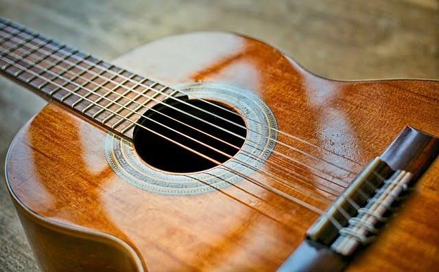 Guitarra clásica o española