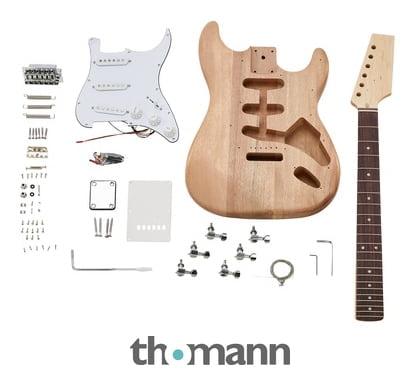 Kit construcción guitarra eléctrica St Harley Benton Thomann