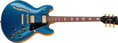 Harley Benton HB-35Plus Metallic Blue
