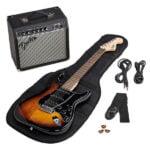 Set de Guitarra Fender SQ Affi Strat Pack HSSBSB IL