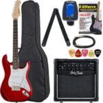 Set de guitarra Harley Benton ST-20 CA Standard Serie Bundle
