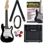 Set de guitarra Thomann Junior Guitar Set 1 BK